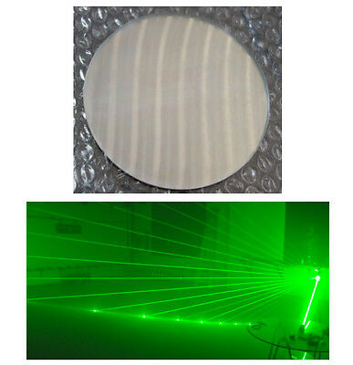 4*TSM1048 1D dots  optical glass lens  reflective mirror for 2W RGB Laser beams
