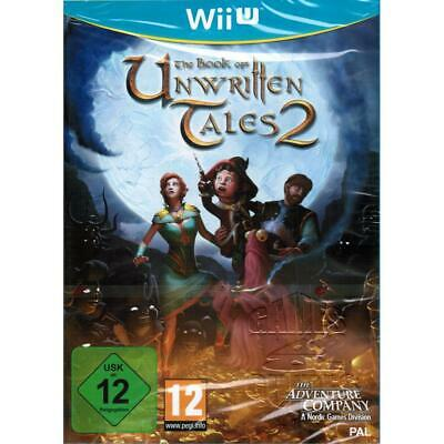 Book of unwritten Tales 2 in Deutsch für Nintendo Wii U Spiel, NEU&OVP