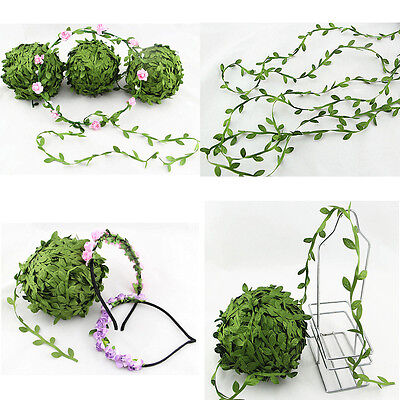 5 Meter Artificial Leaves Home Decor  DIY Craft Silk Leaves Decoration DIY