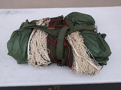 Sf-10A  Parachute Complete Static Line, Deployment Bag And Risers 32 Foot