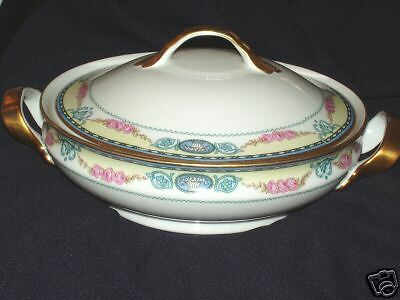 Crown Imperial CIM108 Cambridge Bowl Lid Czechoslovakia