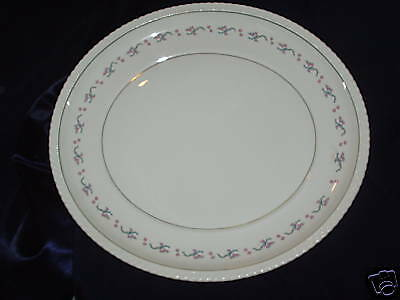 "Steubenville Monticello Herman Kupper 15.5"" Oval Platter Pink Flowers"