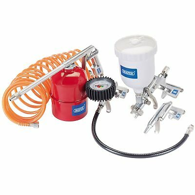 Draper 5 Piece Spraying/Inflating/Cleaning Compressor Air Tool Gun Kit - 81508