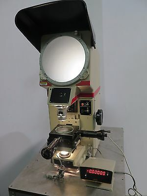 "NIKON 10"" Bench Top Optical Comparator Profile Projector W/ Boeckeler Microcode"