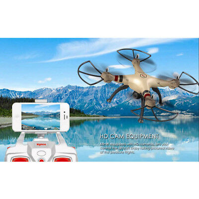 SYMA X8HW 4CH RC Helicopter QUADCOPTER Altitude Hold Rc Drone FPV Camera