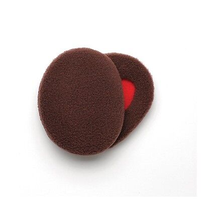 Sprigs Earbags Thinsulate Large Bandless Brown Fleece Ear Warmer Muffs