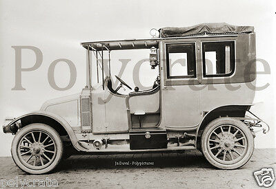 Automobile voiture ancienne 1905 Renault type V ? - repro photo