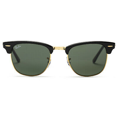 Ray-Ban Clubmaster Classic Sunglasses 49mm (Black / Green Classic G-15)