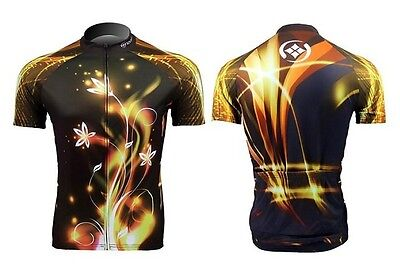 Stream Sportwear Cycling Jersey Bike Bicycle Clothing Short Sleeve Jersey Top