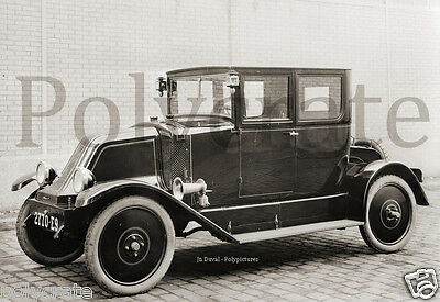 repro photo Automobile voiture ancienne 1905 Renault type V ?