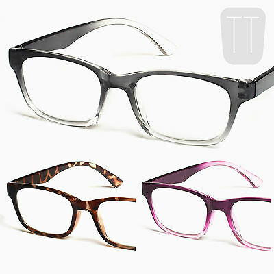 3 PAIRS Retro Rimmed Readers READING GLASSES – Strengths +1.50+2.00+2.50+3.0+3.5