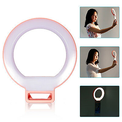 """Neewer 5"""" Dimmable Selfie Clip-on Ring Light 3 Level Brightness for Smartphones"""