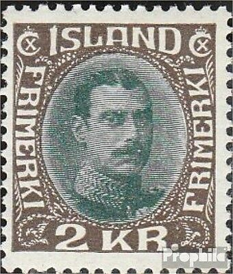 Iceland 166 with hinge 1931 Christian