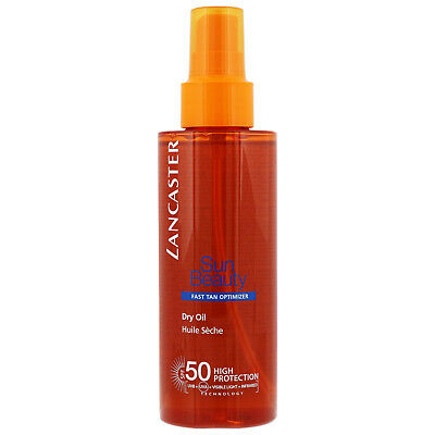 Lancaster Sun Beauty Satin Sheen Oil SPF50 150ml