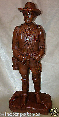 """Red Mill Mfg 1995 Union Officer #433 Chastain Pecan Shells 9.75"""" Tall Excellent"""