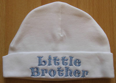 Little Brother Embroidered Baby Boy Hat