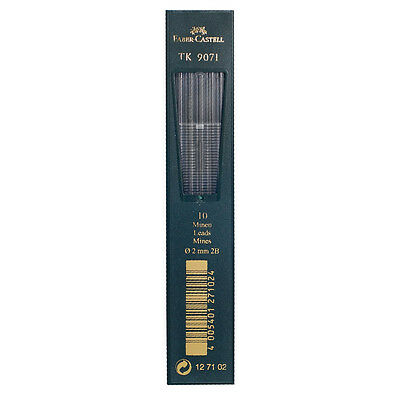 Faber Castell : Clutch Pencil Leads : Pack of 10 : 2B