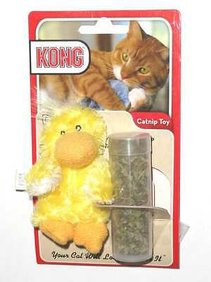 Kong Catnip Toy Ducky With Refillable Catnip Duck Free Shipping In The Usa