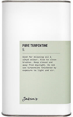 Jackson's : Pure Turpentine 1000ml : By Road Parcel Only