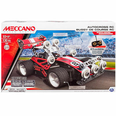 Meccano Elite Auto Cross R.c - Kids Toys Fun Building Learning (M6026720)