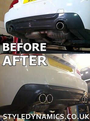 Bmw 335D E90/e92 Quad Exhaust Conversion.stainless Steel Exhaust Conversion/oem