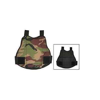 UF Paintball/ Airsoft Reversible Camo/ Black Body Armour