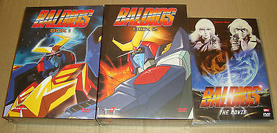 Dvd Baldios 2 Box + Dvd - 7 Dvd Serie Completa + Movie 1^ Edizione Yamato Video