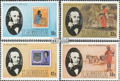 Sambia 213-216 neuf avec gomme originale 1979 rowland hill
