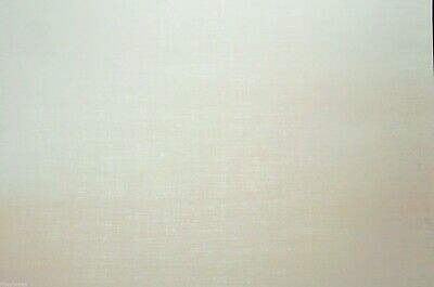 2 x A4 White 'Loose Weave' Patterned Vellum NEW