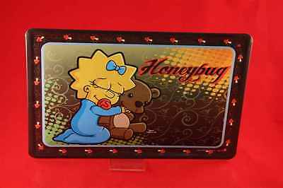 The Simpsons Blechschild MAGGIE HONEYBUG 20x30 cm Simpson Bart Homer 35/ 35