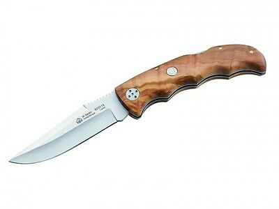 Puma Ip El Dedo Folding Knife / Olive Wood / 822018 ** New In Box **