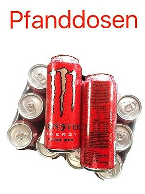 Monster Energy Ultra Red 12 X 500ml Dosen,das Original incl. 3,-Euro Dosenpfand