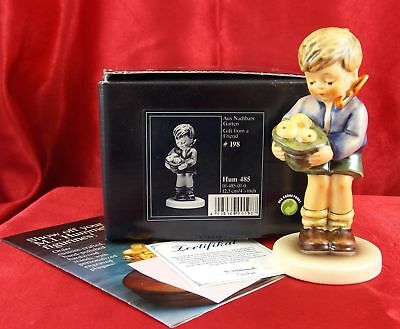 Hummel-Goebel Figurine #485 Gift From A Friend Exclusive Edition TMK-7