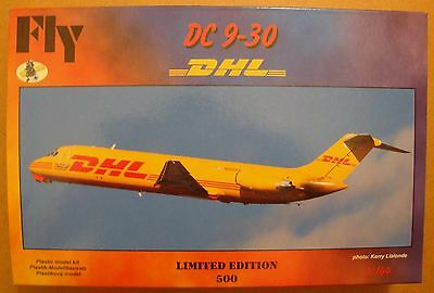 "FLY KITS  DC-9-30 ""DHL""   NEU!!  1:144 LIMITED of 500 pieces!!"