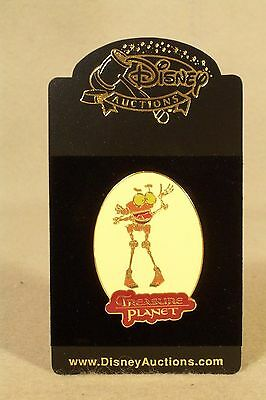 "TREASURE PLANET ""B.E.N."" Disney Auctions 2002 Pin, LE 100, Rare !!"