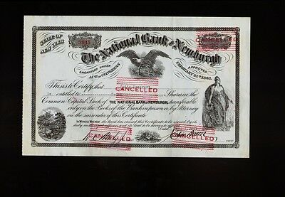 The National Bank of Newburgh NY 1941 issued to Julia Demarest