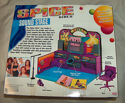 NEW Rare Spice Girls Sound Stage Recording Studio # 23506 Free Shipping U.S.A.