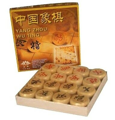 (1) OLD WORLD STYLE ~ CHINESE CHESS / CHECKERS GAME SET Asian Games and Decor