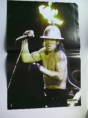 Red Hot Chilli Peppers Anthony  & John Double Page Double Sided Poster (LMF33)