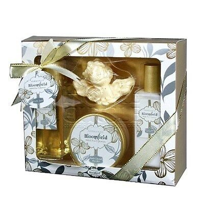 Bloomfield Womens Bath And Body Shower Gift Set Pack Box Bathroom For Her