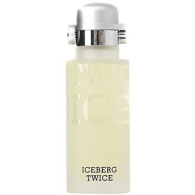 NEW Iceberg Twice Homme Eau de Toilette Spray 125ml Fragrance FREE P&P