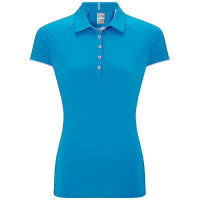 Callaway Golf Womens Legacy SS Back Mesh Polo Shirt CGKS5037 Performance