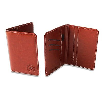 Brown Golf Scorecard Holder Synthetic Leather come with a pencil Craftsman