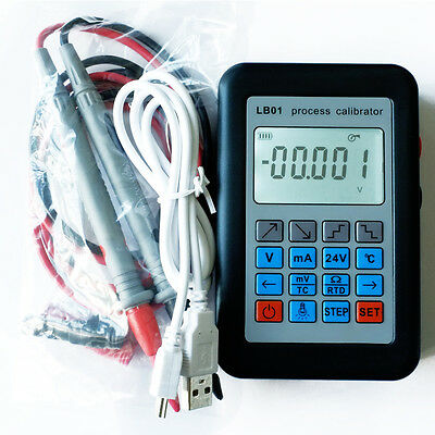 Thermocouple Current Voltmeter signal generator source process calibrator LB01