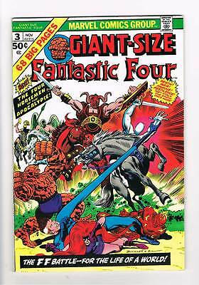 Giant-Size Fantastic Four # 3  Four Horsemen !  grade 6.5 scarce hot book !!