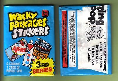 1980 Topps Wacky Packages Series 3 Wax Pack (x1) Fresh from Box!