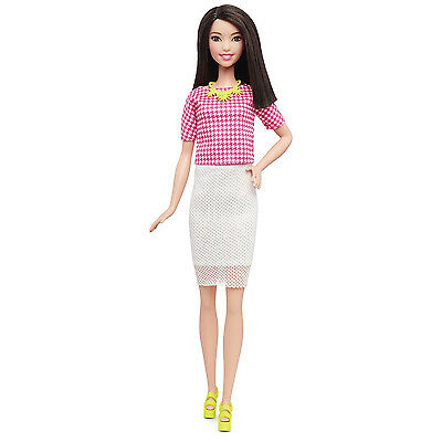 Barbie Fashionistas Doll 30 White & Pink Pizzazz - Tall New in Box