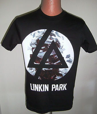Linkin Park-Incubus-2012 United States Concert Tour-Official Black T-Shirt