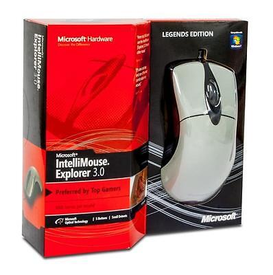 New Microsoft IntelliMouse Explorer Legends Edition 3.0 Mouse