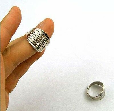 Adjustable Size Thimble Tools Sewing Craft Sewing 3pcs Ring Protector Sewing
